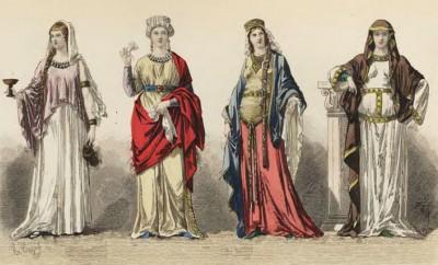 vestiti alto medioevo