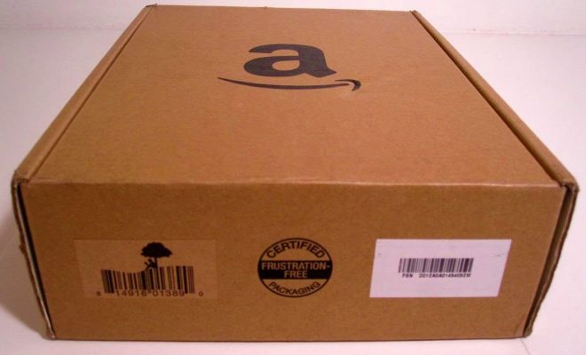 pacco amazon acquisti on line