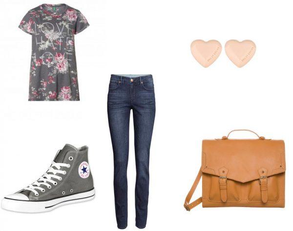 outfit abbigliamento scolastico