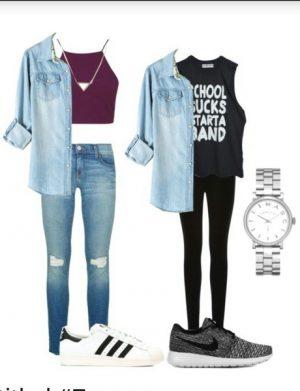 abbigliamento scolastico trendy scuola